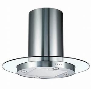 Cookology Tub900gl 90cm Round Glass  U0026 Stainless Steel