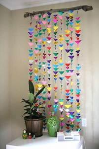 DIY Hanging Origami Decor  Hanging Origami Decor