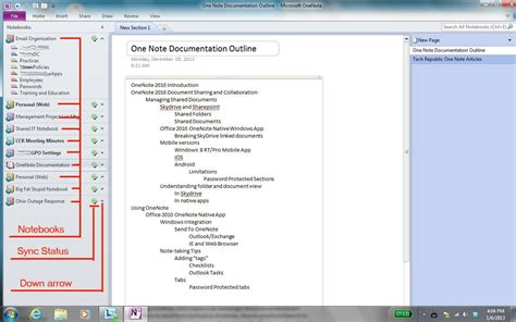 onenote section template leverage onenote for better organizational collaboration techrepublic