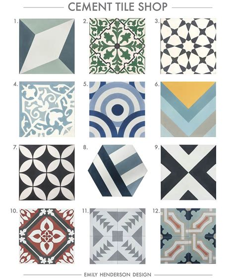 black and green rug where to buy cement tiles emily henderson