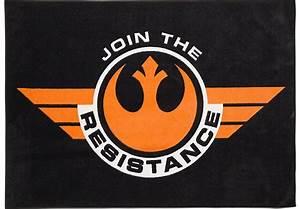 Star Wars Resistance Black 5' x 7' Rug - Rugs (Black)