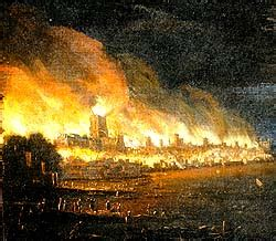 Your great fire london stock images are ready. History: Picture Gallery - The Great Fire of London and ...