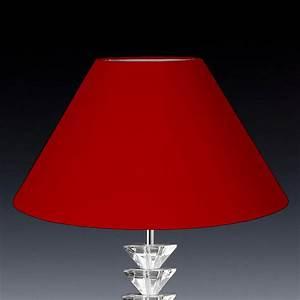 Lampenschirm 40 Cm : lampenschirm rund rot konisch 40 x 25 x 16cm online shop ~ Pilothousefishingboats.com Haus und Dekorationen