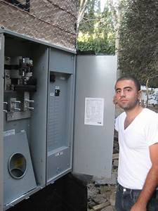 400 Amp 120  240 V Main Electrical Panel Installation