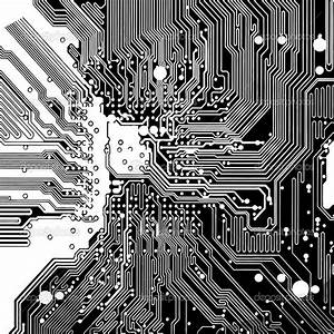 Computer Circuit Board Made In Vector  U2014 Vector By Icetray