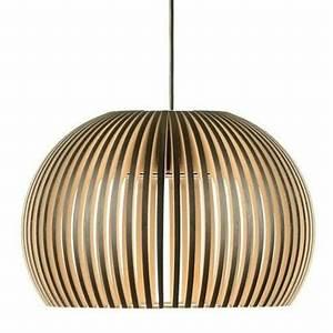 Luminaire Suspension Bois : luminaires suspensions bois ~ Teatrodelosmanantiales.com Idées de Décoration
