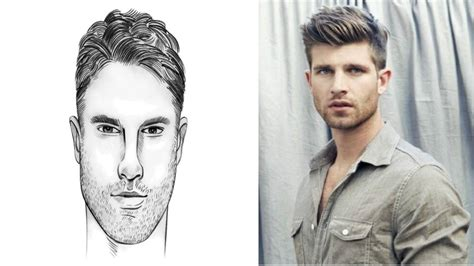 hairstyle  oval face  male wavy haircut