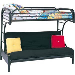eclipse twin over full futon bunk bed multiple colors walmart com