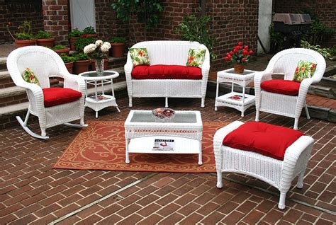 wicker white malibu outdoor wicker patio furniture