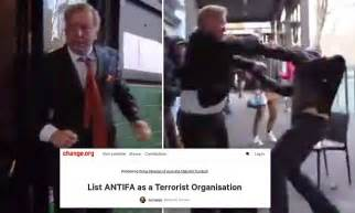 malcolm turnbull urged  declare antifa  terrorists