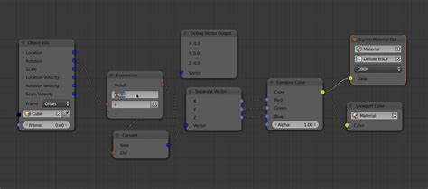 Change Color With Object Rotation