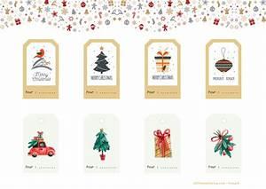 étiquettes De Noel à Imprimer : etiquettes imprimer pour d corer ses cadeaux de no l a ~ Melissatoandfro.com Idées de Décoration