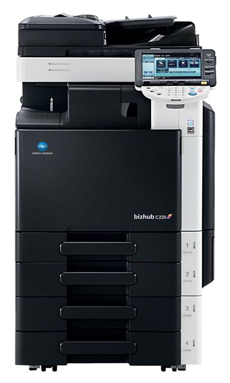 The bizhub c220 colour laser printer supplies a safe but easy to use user interface and. Binod Chaudhary