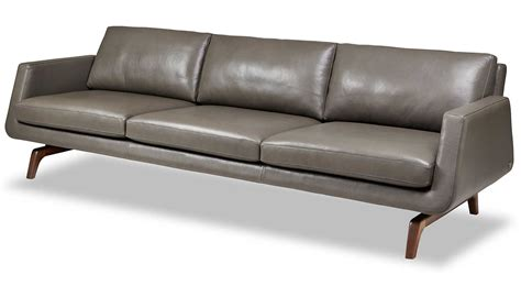Contemporary Sofas Atlanta by Circle Furniture Nash Sofa Leather Sofa Contemporary