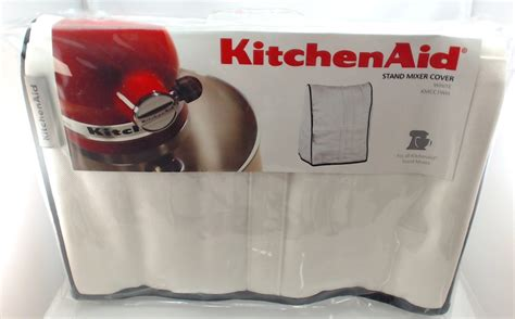 kitchen aid cover kmcc1wh kitchenaid stand mixer cloth cover in white