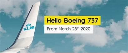 Klm March Boeing Welcome Leeds Bradford Hello