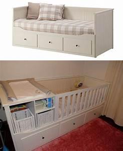 Ikea Hemnes Kinderbett : transform hemnes bed of ikea into a baby bed cod do pinterest good ideas ~ Sanjose-hotels-ca.com Haus und Dekorationen