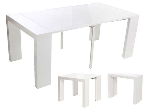 table console extensible blanc laque 1000 ideas about console extensible blanc laqu 233 on console extensible but table