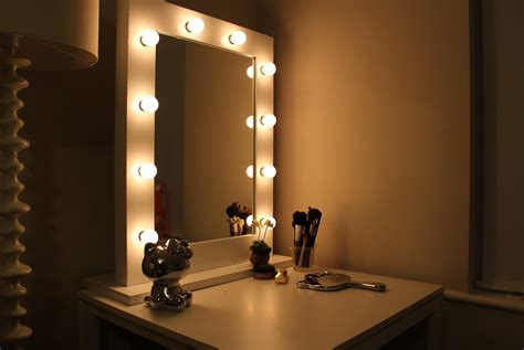 mirror with lights broadway lighted vanity mirror ideas doherty house
