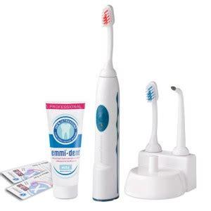 emmi dental professional ultraschallzahnbuersten test