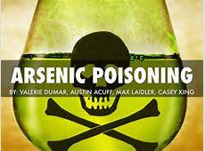 Arsenic Poisoning by Valerie Dumar