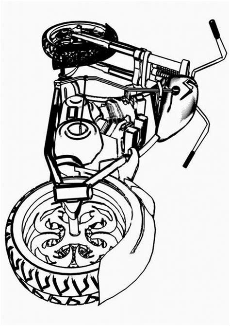 Ausmalbilder motorrad zum thema transport zum ausdrucken und ausmalen. Ausmalbilder Motorrad - Bilder zum ausmalen