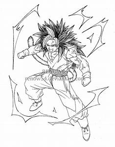 Son Goku Super Saiyan 5 (Dragon Ball New Age) by Renow54 ...