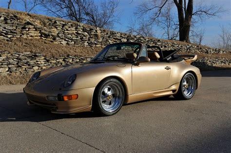 gold porsche convertible tuner tuesday gold digger 1977 porsche 911 turbo