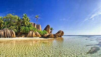 Seychelles 4k Digue Beach Africa Island Uhd