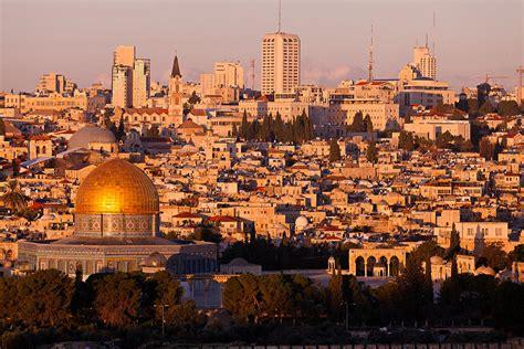 55 in tv mount jerusalem skyline photograph by jonathan gewirtz