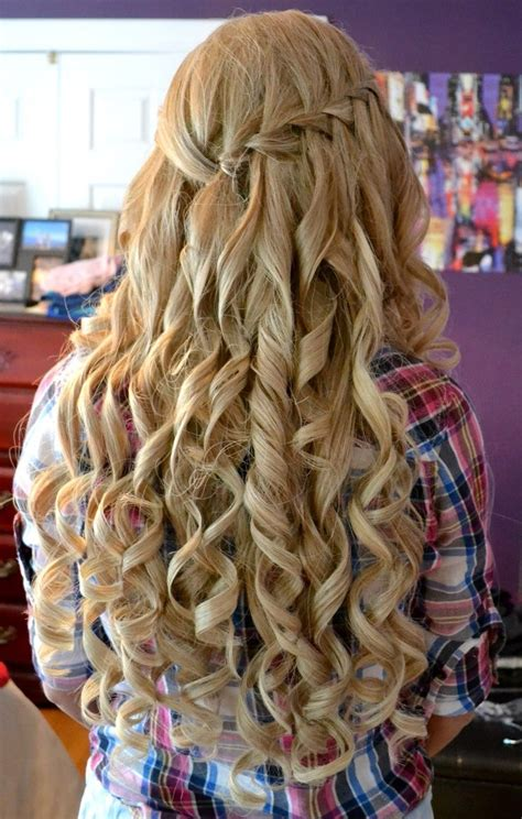 curly hairstyles  prom night parties  xerxes