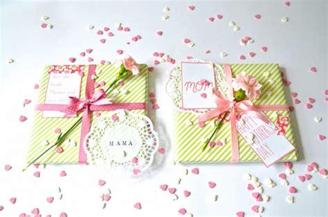 ideen für muttertag geschenkverpackung zum muttertag frl selbstgemacht