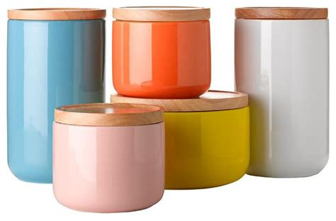 kitchen storage canister general eclectic canisters contemporary kitchen