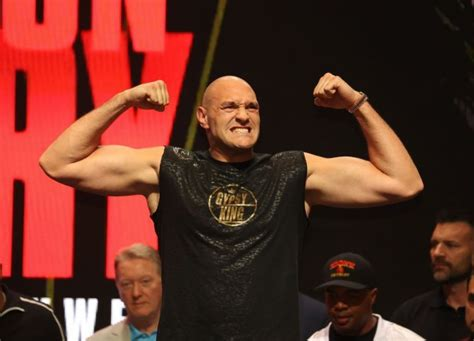 Tyson Fury and Deontay Wilder react to their enormous ...