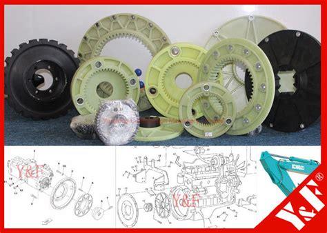 daewoo doosan excavator engine drive coupling flywheel mounting hydraulic pump motor coupling
