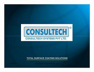 Painting Equipment By Consultech Systems Pvt. Ltd., Pune