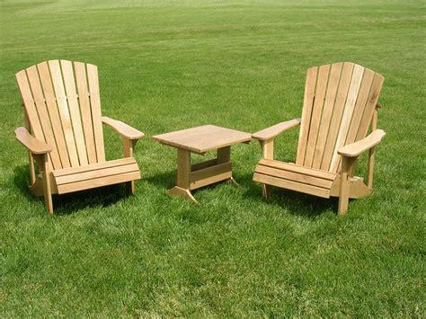 Yard Furniture by Adirondack Chair