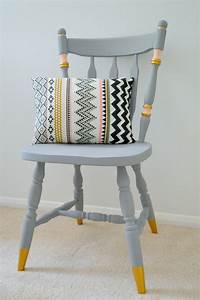 Upcycling, Ideas, Chalk, Paint, Chair, Makeover