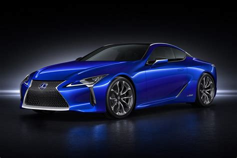 Lexus Car : Lexus Lc 500h Makes 354-hp, Has Four-speed Gearbox