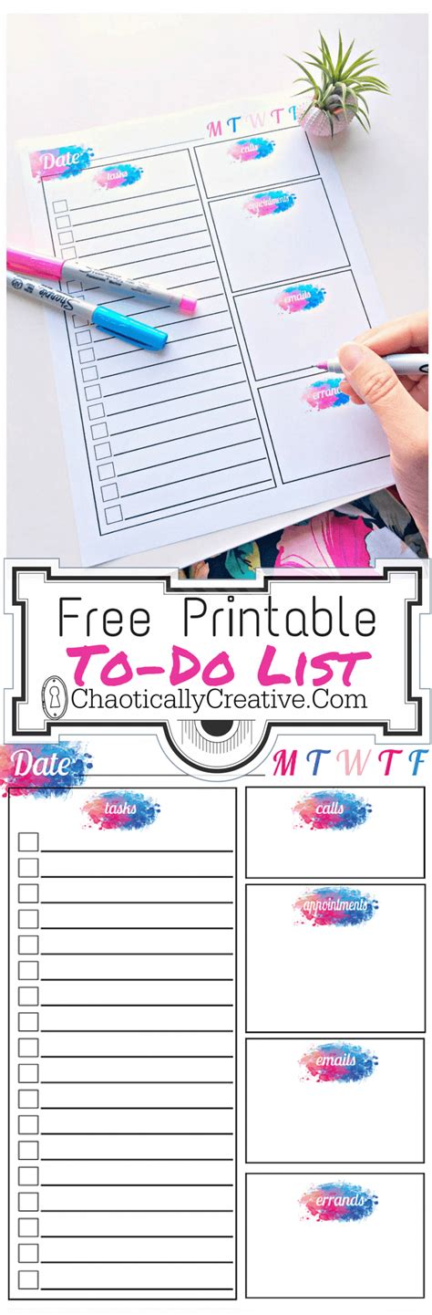 The Number Tool Get Things Done List