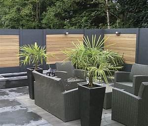 Palissade De Jardin : ideal une palissade sur mesure au design contemporain ~ Melissatoandfro.com Idées de Décoration