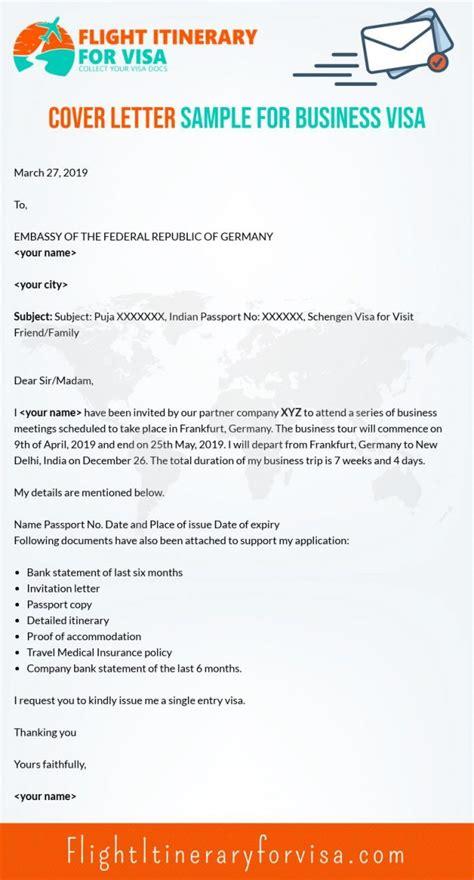 cover letter  schengen visa samples  writing
