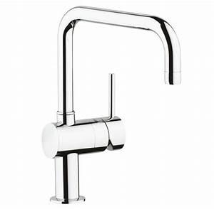 Grohe Minta Supersteel : grohe minta u spout single lever kitchen tap ~ Watch28wear.com Haus und Dekorationen