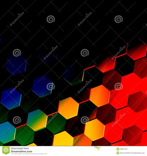 Abstract Black Texture Background Hexagon by Colorful Hexagonal Background Unique Abstract