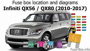 Fuse Box Location And Diagrams  Infiniti Qx56  Qx80  2010