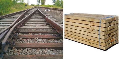 Wooden Sleepers by Railway Sleeper Materials Overview Wood Steel Concrete