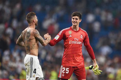 Real Madrid goalkeeper Thibaut Courtois admits Sergio ...