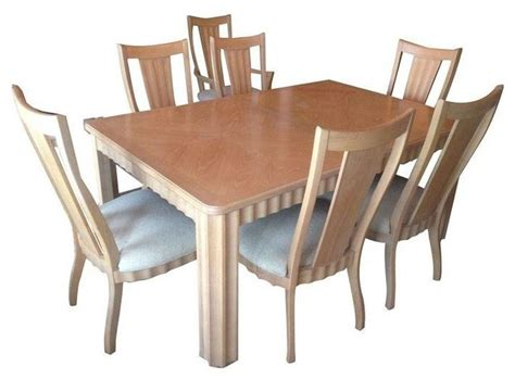pre owned thomasville terrace dining table and