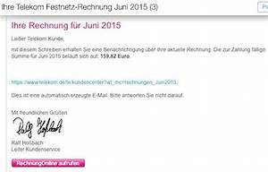 Telekom Rechnung Online Anschauen : telekom best tigt itopnews bericht ber gef lschte rechnungen itopnews ~ Themetempest.com Abrechnung