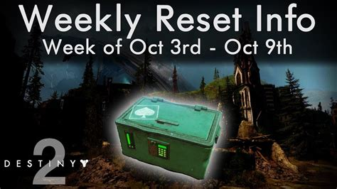 destiny 2 weekly reset oct 3rd caydes stash locations